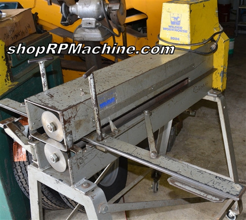 SH-049 Used Wilder 2024 Sheet Slitter With Stand