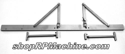 12580 Wilder T-Handle Backgauge Bar Assembly for Old Model 2024 Slitter