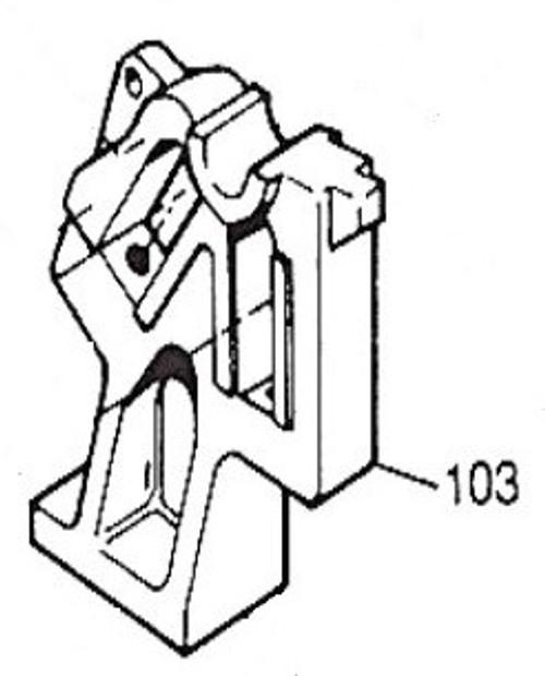 SR-103 Tennsmith RH Side Frame for SR-36 Slip Roller