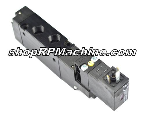 AA65448 Lockformer Vulcan Torch Head Lift Valve - 24 Volt DC Coil