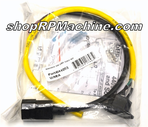 044093 Duro Dyne Vibrator Line Cord Kit