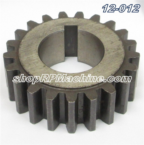 12-012 Flagler Roll Shaft Gear with Key