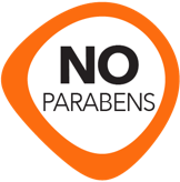 contains no parabens