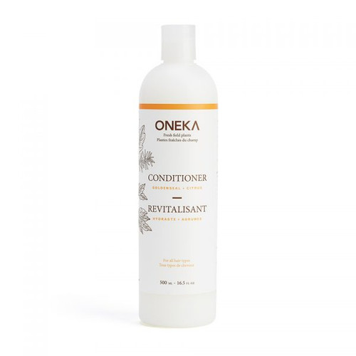 This refillable conditioner is great for all hair types, including coloured hair.