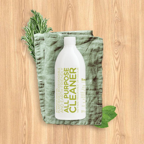 Make CLEAN smell good This highly concentrated, biodegradable and earth friendly liquid super cleaner can be used on almost every hard surface in your home. It works wonders on floors, walls, bathrooms, kitchens more. With so many uses, it's sure to help simplify your chores.