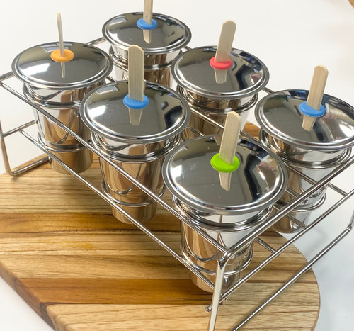 Made from 18/8 stainless steel, this fast freeze mould is easy to use, is easy to clean and will last you a lifetime