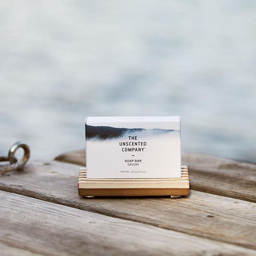 The Uncented Co soap bar is perfect for the whole family.
