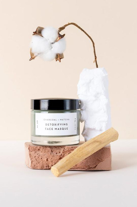 Mask your way to brighter skin! This Charcoal and Matcha detoxifying mask helps clarify your complexion while delivering a burst of antioxidants. The super-detoxifying fusion of Activated Bamboo Charcoal and skin-brightening Matcha will leave your skin feeling revitalized, soft, and balanced!