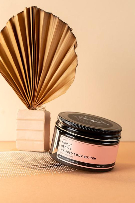 This decadent body cream is packed to the brim with fresh, nutritious plant oils and butters to keep your skin happy from sunrise to sunset. Shea Butter, Cocoa Butter, Mango Butter