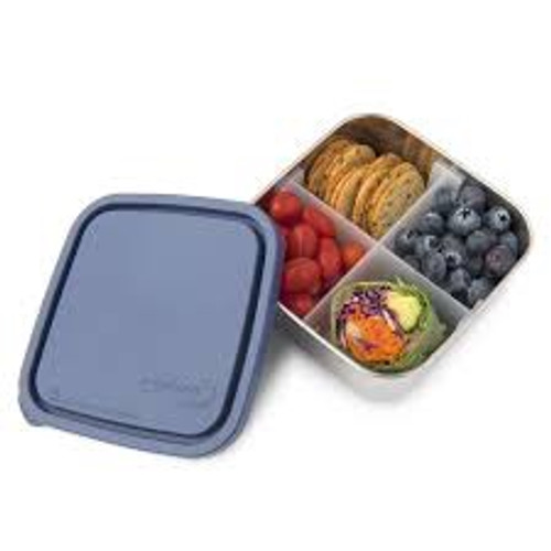 U-Konserve Divided To-Go Medium Stainless Steel Container
