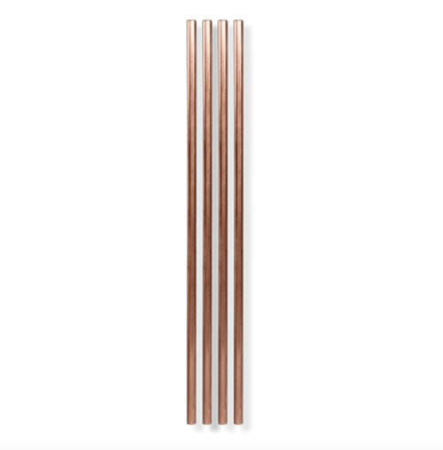 The Pineapple Co Copper Straw - 4pk