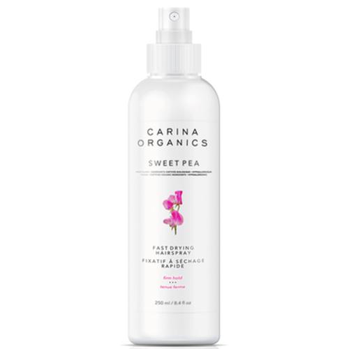 Carina Organics Sweet Pea Fast Drying Hairspray - 250 ml