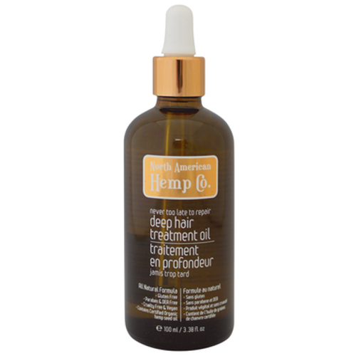 This Omega 3, 6 & 9 fatty acid rich miracle in a bottle seals split ends and smoothes over your hair's damaged cuticle with its hemp seed, olive and coconut oil blend.  Directions: Add a little to damp hair for shine that lasts all day. Leave on overnight for the ultimate hair and scalp rejuvenation, for tomorrow's brilliant frizz-free style.