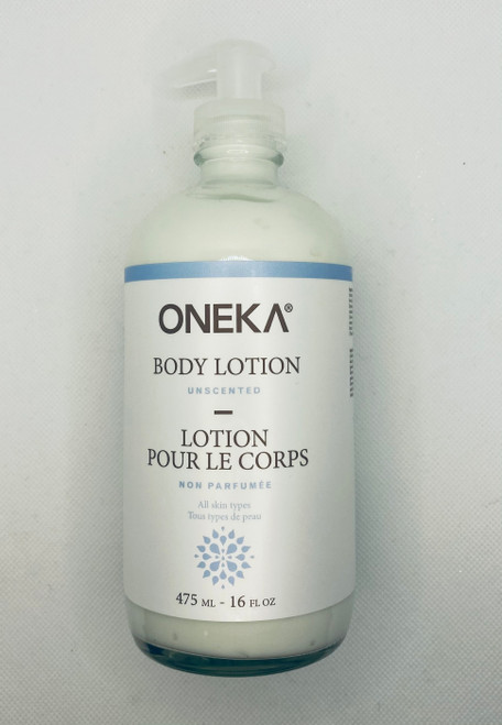 Oneka Unscented Body Lotion - 475ml
