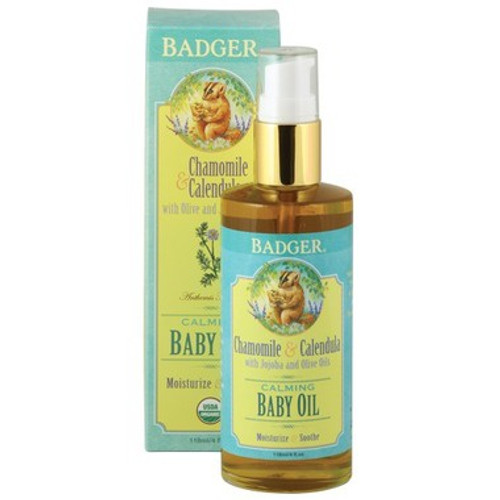 Soothe and balance delicate skin with this 100% organic blend of nourishing oils and calming herbs. Badger Baby Oil helps keep even the most sensitive skin soft, supple, and silky-smooth.