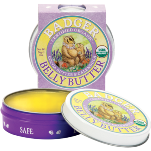 A rich, creamy conditioner with cocoa butter as a key ingredient, which is known for relieving the discomfort of dry, tight pregnant belly skin. Coconut oil and vitamin E help to soothe the dreaded pregnant belly itch. Our Pregnant Belly Butter has the delicious natural aroma of Cocoa Butter. Massage onto skin after showering or bathing, or anytime you need extra pampering. Perfect as a spot treatment or an all over intensive overnight treatment—especially at the end of pregnancy when skin can feel the most stretched and uncomfortable. Safe for use during and after pregnancy. Lab tested hypoallergenic.