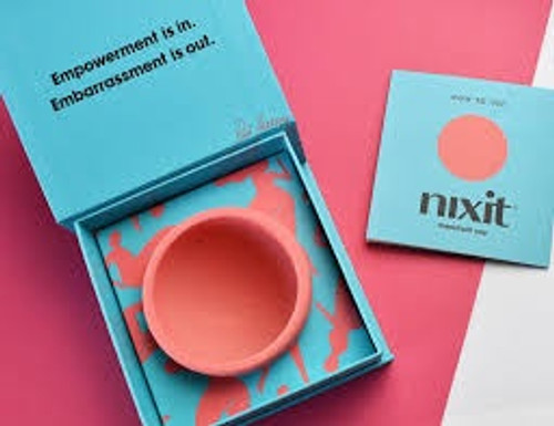 At nixit, we make  cups simple. Ultra soft silicone and a unique, one size fits all  shape, nixit conforms to you. No confusing sizes, no awkward folds.