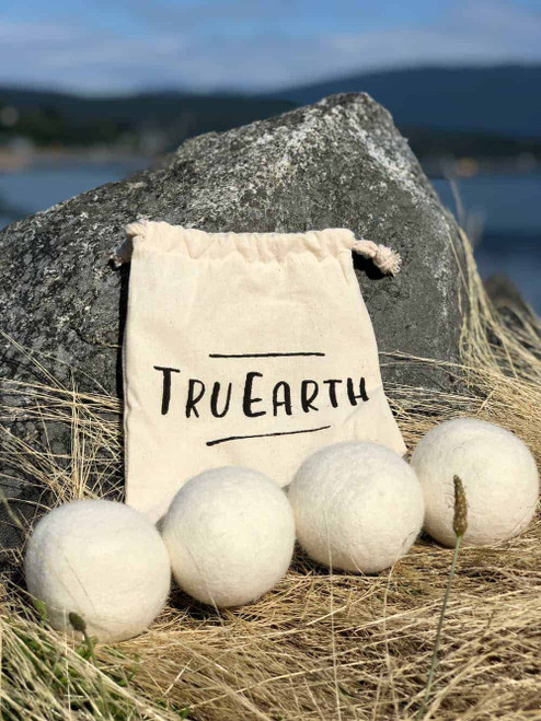 TruEarth Wool Dryer Balls - 4 Pack