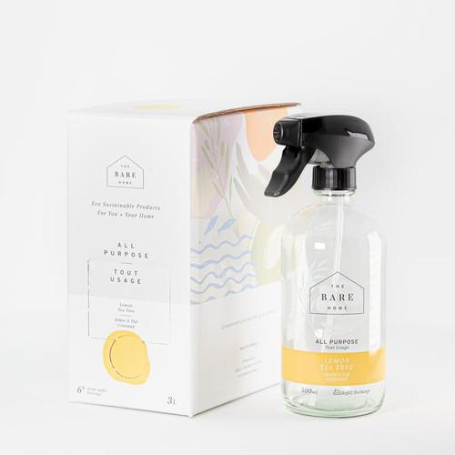 The Bare Home All Purpose Cleaner Lemon Tea Tree