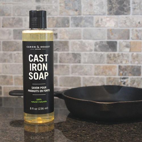 Caron & Doucet Cast Iron Cleaning Soap 8 oz