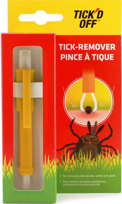 specifically to quickly, safely and easily remove the tick without damaging it, thus preventing the chance for Lyme disease to transmit.