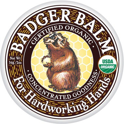 "Badger Balm (formerly called ""Badger Healing Balm"") is our original product, and it works so well that we've built an entire company around it! Created by Badger Bill to moisturize his rough, cracked carpenter's hands during a fierce New England winter, you can trust us when we say this stuff will soothe and soften your driest, hardest, and roughest skin but is gentle enough to use every day. Smells great with the light minty and somewhat earthy aroma of wintergreen. If you should ever find yourself lost in some vast, uncharted wilderness, you want this balm with you!"