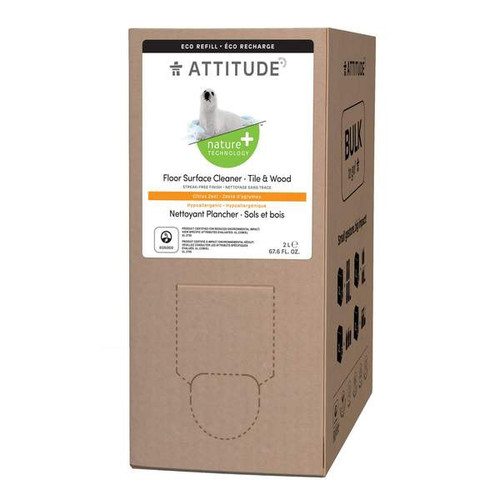 Thanks to its non-toxic formula which contains plant- and mineral- based ingredients like saponin, a natural cleansing agent, your laminate, wooden, tile, ceramic and marble floors will sparkle clean