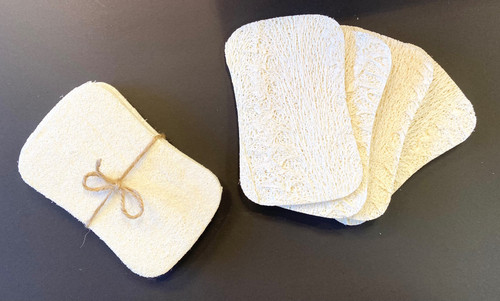 Footprints Co Loofah Sponge 4 pk