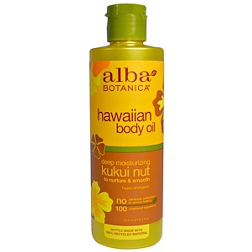 Alba Kukui Nut Body Oil 250 ml