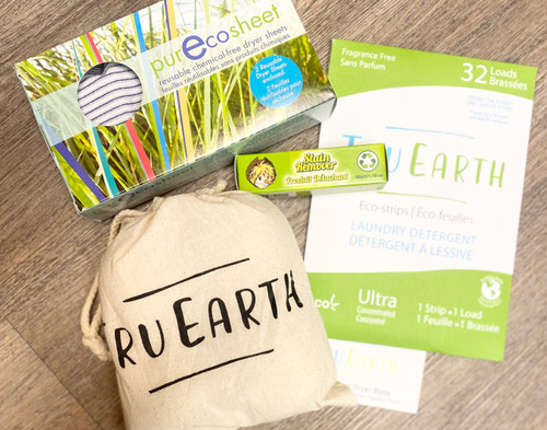 Some of our favourite products to help have a more eco-friendly laundry room.