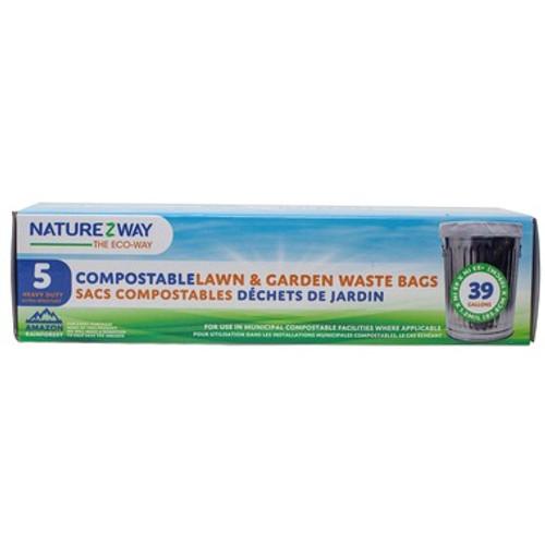 Naturezway Compostable Lawn & Garden Waste Bag