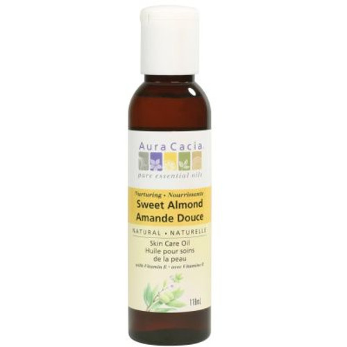 Almond (Prunus amygdalus dulcis) oil is one of the most diverse and accessible skincare oils, making it one of the most popular natural skincare ingredients. Due to its weight and nutrient density, it is excellent for bath and after-shower applications, and especially appropriate for caring for dry skin.