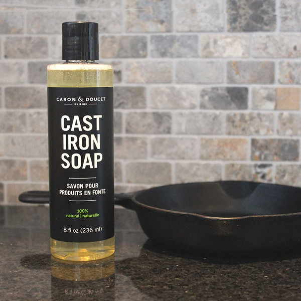 Caron & Doucet Cast Iron Cleaning Soap 8 oz