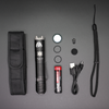 WOWTAC BSS V4 Tactical LED Flashlight, Super Bright 1785 Lumens Rechargeable EDC Flashlight