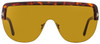 Tom Ford Shield Sunglasses TF560 Angus-02 54E Havana/Gold 0mm FT0560