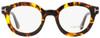Tom Ford Round Eyeglasses TF5460 052 Havana 49mm FT5460