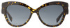 Fendi Oval Sunglasses FF0139S N6DHD Havana Spotted Black 55mm 139