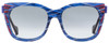 Fendi Square Sunglasses FF0180S Kinky VDNJJ Patterned Blue 54mm 180