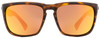 Electric Rectangular Sunglasses Knoxville XL EE11213958 Matte Tortoise 60mm