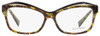 Alain Mikli Rectangular Eyeglasses A03042 E013 Brown/Black Chevron 54mm 3042
