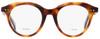 Celine Oval Eyeglasses CL41458 086 Dark Havana 45mm 41458