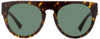 Versace Oval Sunglasses VE4333 108-71 Havana/Gold/Black 55mm 4333
