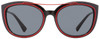 Versace Oval Sunglasses VE4336 5255-87 Black/Red 56mm 4336