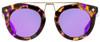 MCM Oval Sunglasses MCM636S 236 Havana Violet/Gold 49mm 636