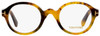 Tom Ford Round Eyeglasses TF5490 056 Honey Havana 46mm FT5490