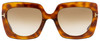 Tom Ford Square Sunglasses TF610 Jasmine-02 53F Blonde Havana/Gold 53mm FT0610