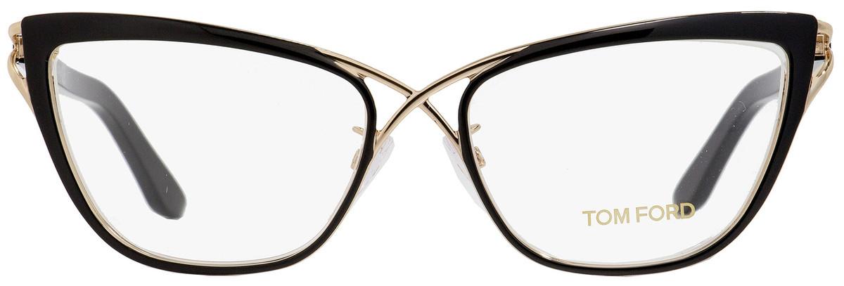d18220579ab0f Tom Ford Butterfly Eyeglasses TF5272 005 Size  53mm Rose Gold Black FT5272
