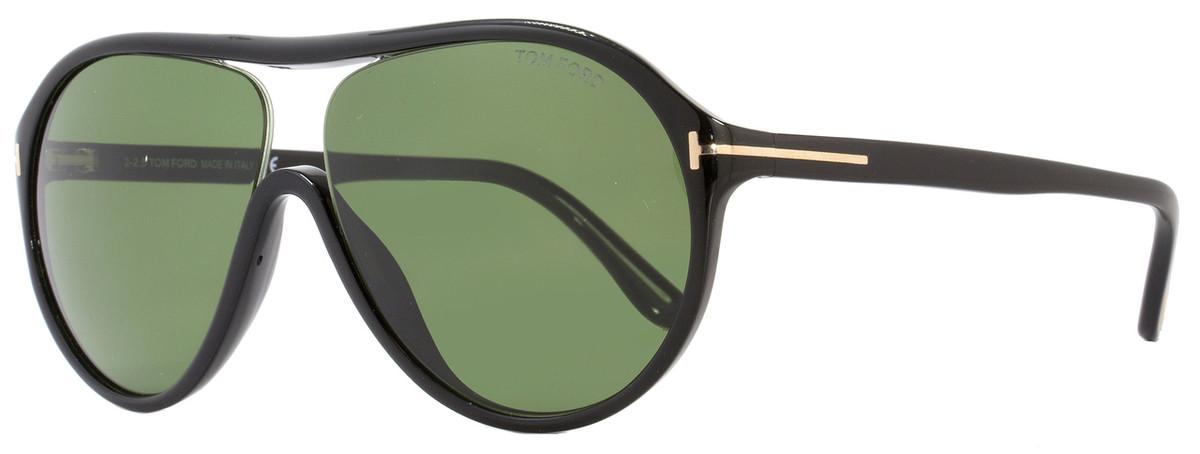 1db7faf4dfd Tom Ford Aviator Sunglasses TF443 Edison 01N Black FT0443