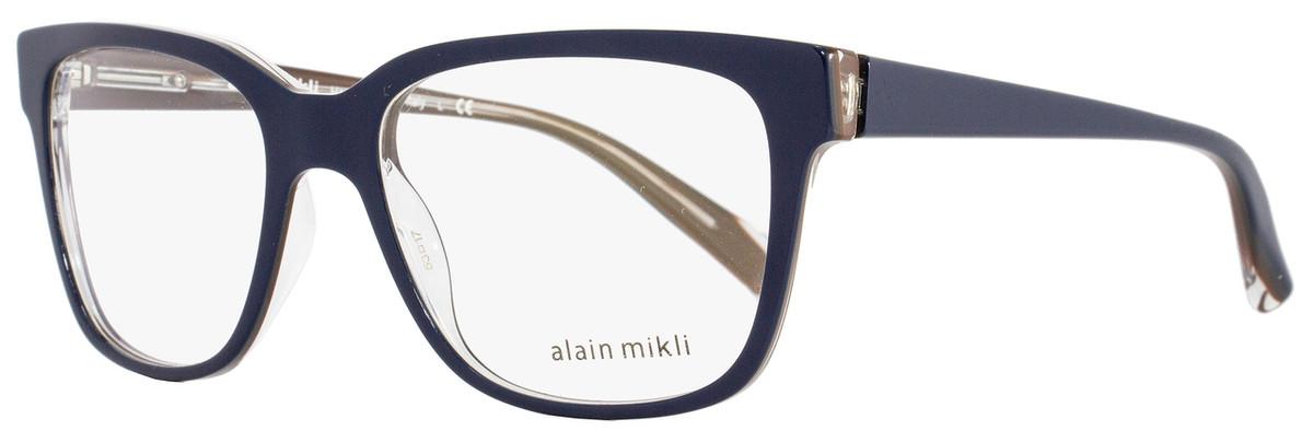 605243eb6de Alain Mikli Square Eyeglasses A03034 M0JV Size  53mm Navy Blue ...