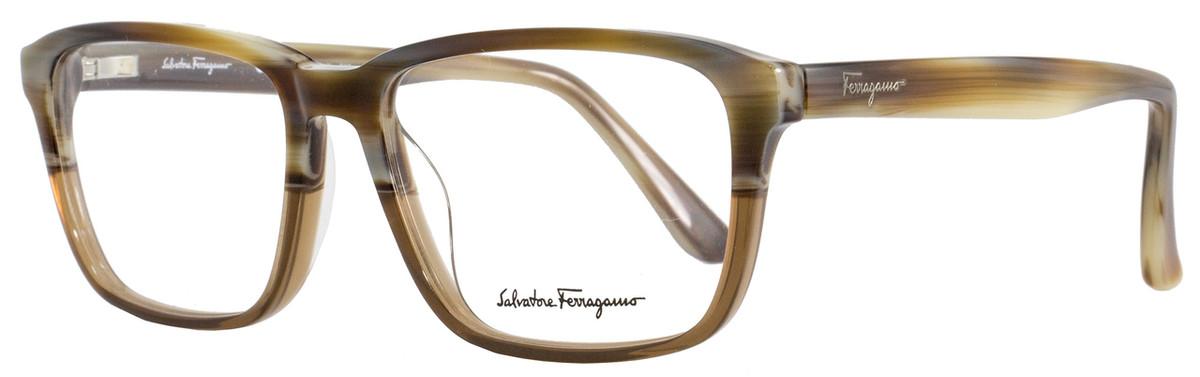 095033eaf3 Salvatore Ferragamo Rectangular Eyeglasses SF2738 217 Size ...